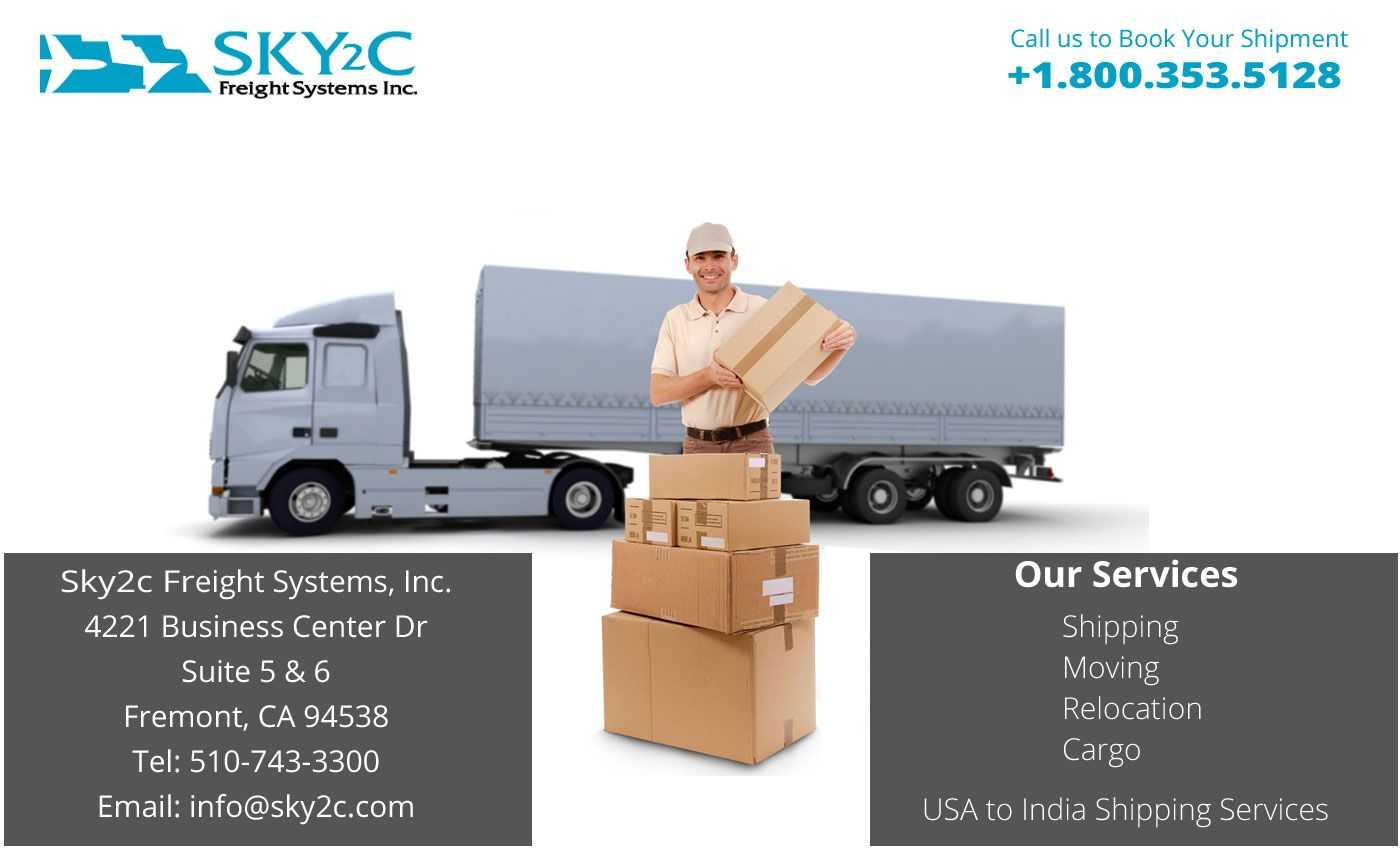 Sky2c Freight Systems is a reputed shipping company located