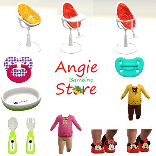 Several New Products At Angie Bambino Store