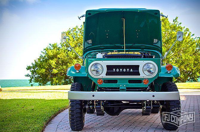 The FJ Company | 1968 Toyota Land Cruiser FJ40 Deep Green | FJ For