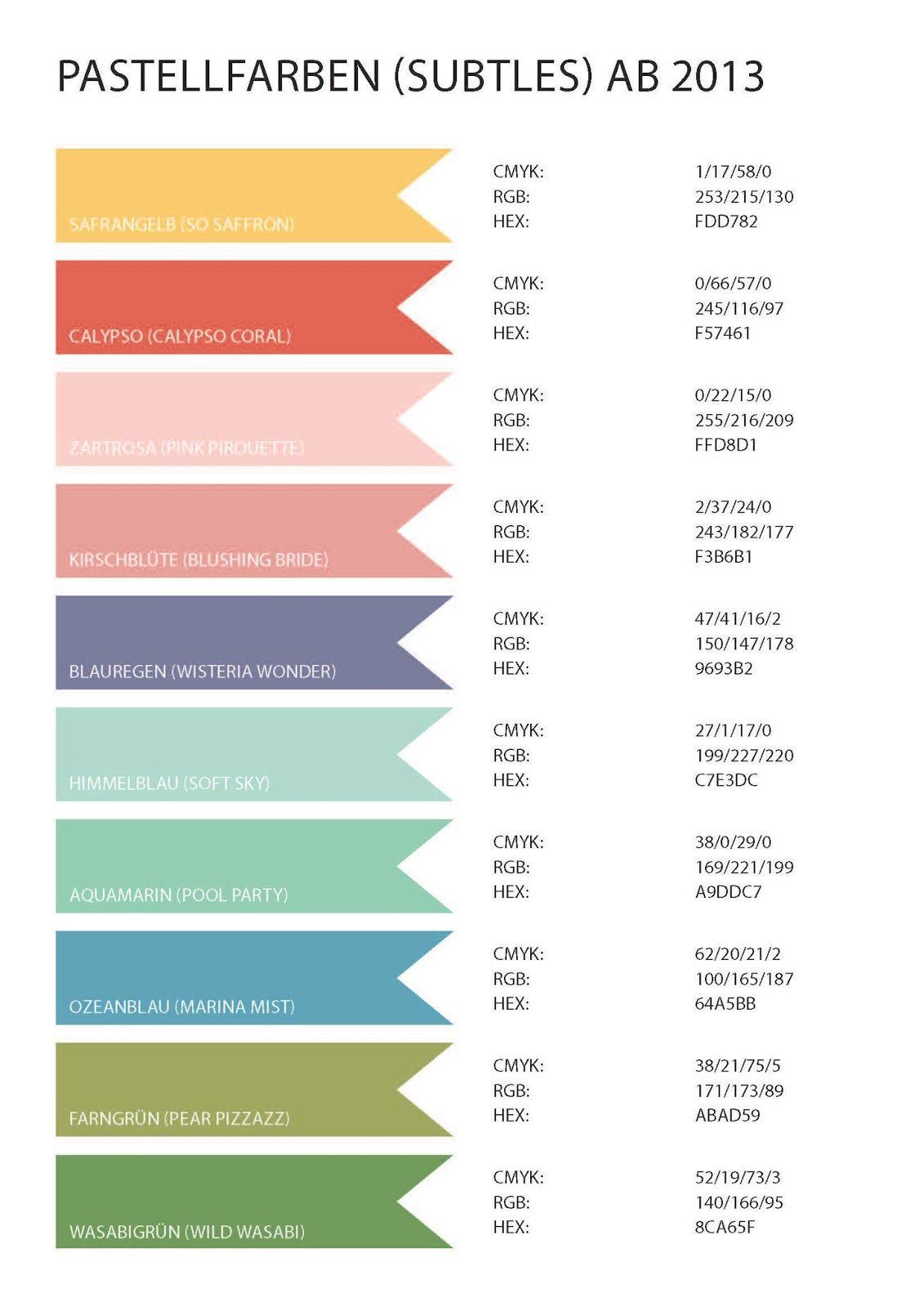 Downloads Hex Farbpalette Farbenlehre Und Farben Lehre