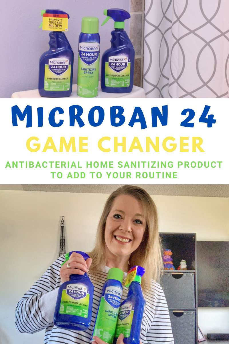 Microban 24 Changing The Way I Clean In 2020 Cleaning Me Clean Cleaning Routine