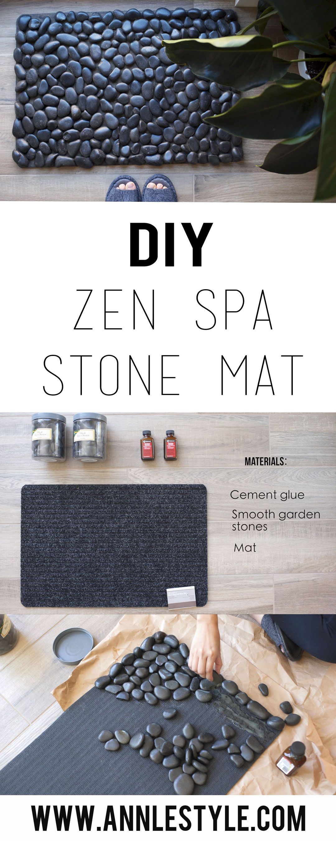 How To Make A Grounding Stone Mat Ann Le Style Simple Syrup Recipes Homemade Remedies Herbal Remedies