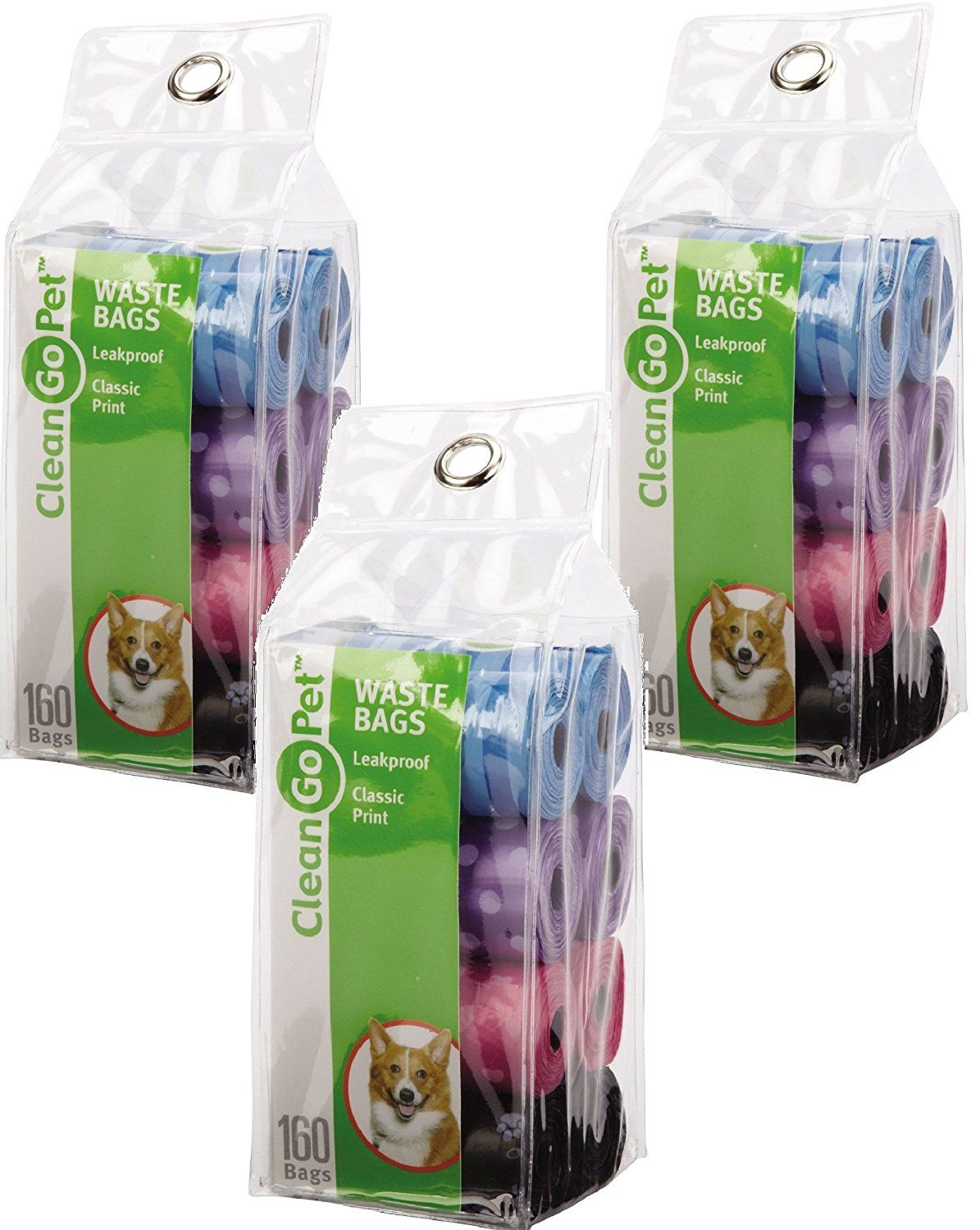 Clean Go Pet Waste Bags 24 Rolls Multicolor Pack With 8 Per You Can Find Out More Details At The Link Of Image