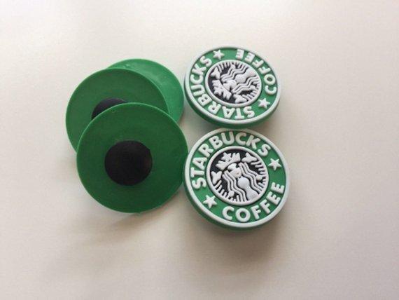 e9938596b88b79 3 pcs Starbucks Crocs Shoe Charm Clog Jibbitz Charm (FREE SHIPPING!) 40%