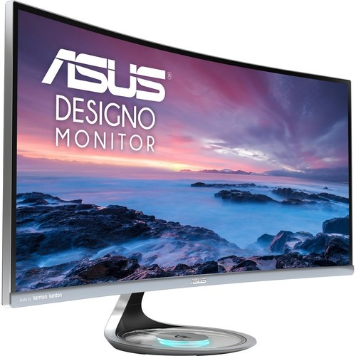"ASUS MX34VQ Designo 34"" 219 Ultra Wide Curved LCD Monitor"