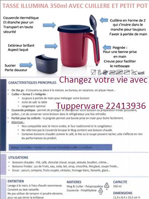 Tasse Illumina & cuillère & petit pot