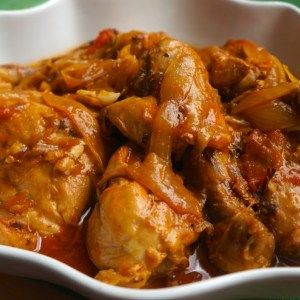 Chicken in Creole Sauce (Poulet a L'Haitienne) #cajunandcreolerecipes
