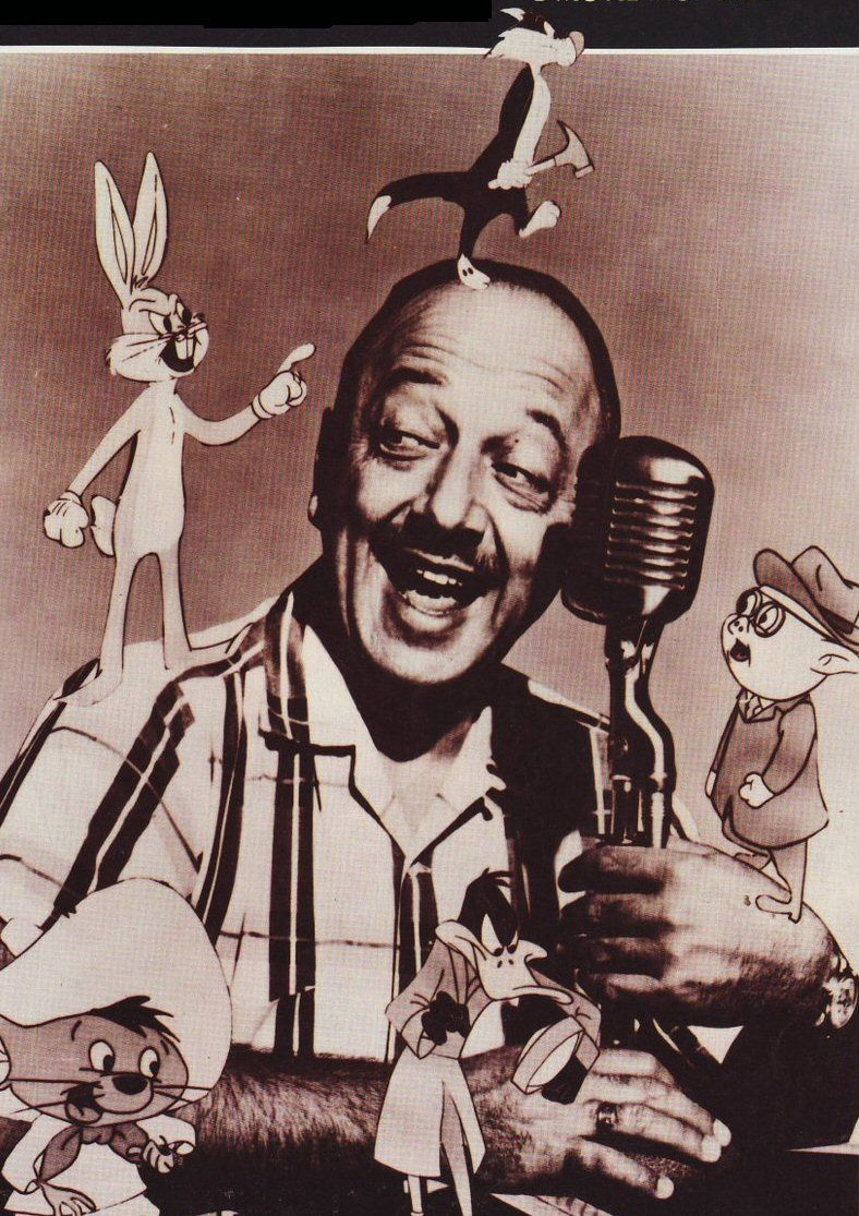 Mel Blanc. Man of 1000 voices. One of the most prolific and greatest voice actors of all time. Went from radio commercials to voicing hundreds of characters throughout his 60-year career. He was a phenomenon, there'll never be another Mel Blanc.