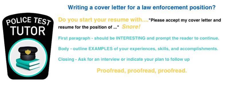 Resume tips law enforcement Resume Objective ideas Pinterest