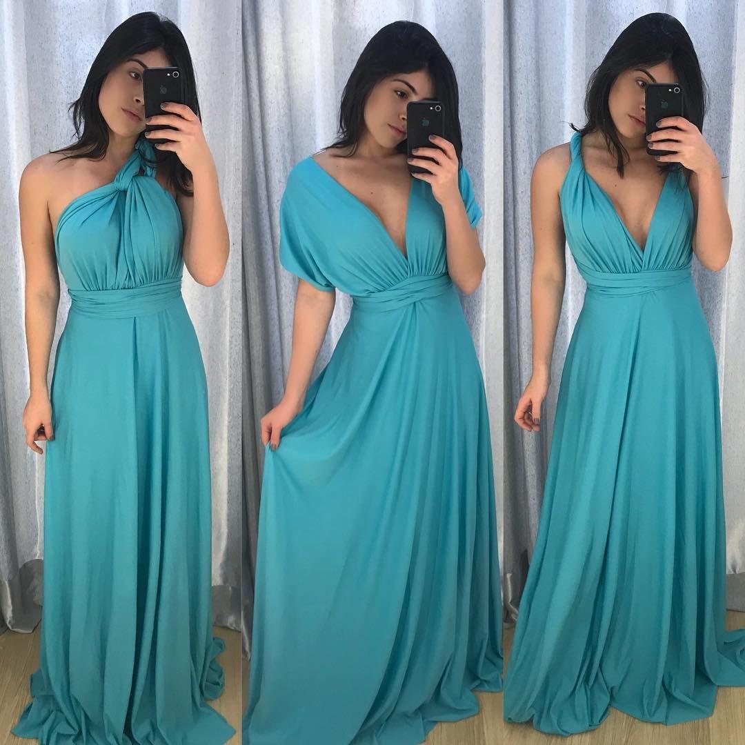 Um Vestido E Mil Formas De Usar Pode Ser Amarrado De