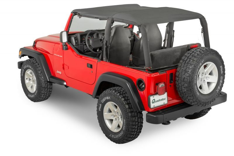 Quadratop Bimini Top Plus For 97 06 Jeep Wrangler Tj With Images Tonno Cover Jeep Wrangler Tj Jeep Wrangler