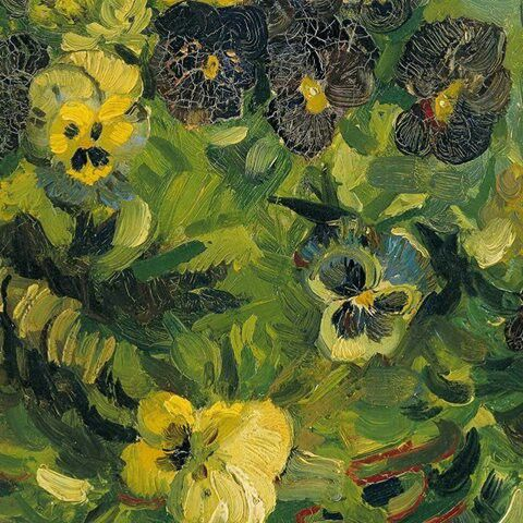 Basket of Pansies, 1887 (detail) Vincent van Gogh | Artist