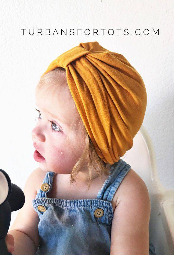 Mustard Hat: (jersey) w/ Tab - baby turban, baby hat, hospital hat, baby hat, jersey baby hat, premi #premiebabyhats