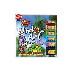 Klutz Window Art