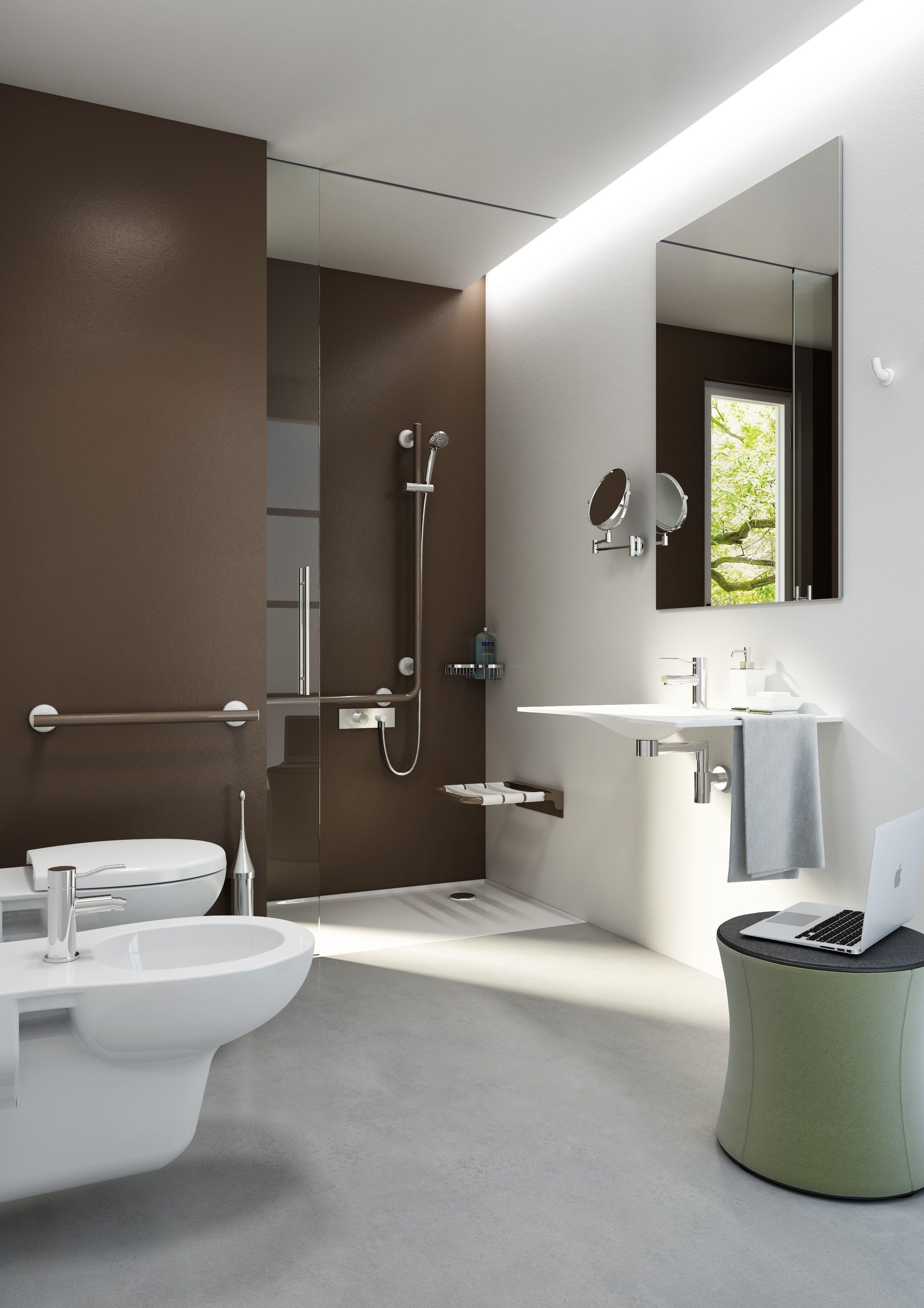 Bagno per #anziani e #disabili, #Bagno #design, #Bagno #elegante ...