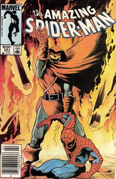 Cover for The Amazing Spider-Man (Marvel, 1963 series) #261 [Direct Edition]