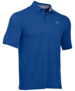 2035a0694ff75 Under Armour Men s Charged Cotton Scramble Golf Polo - White XXXL ...