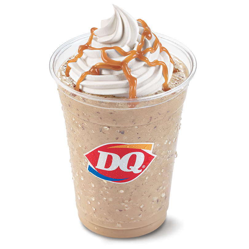 Dairy Queen Caramel Chip Ultimate Frappe Dairy Queen Mint Chocolate Chips Chocolate Milk