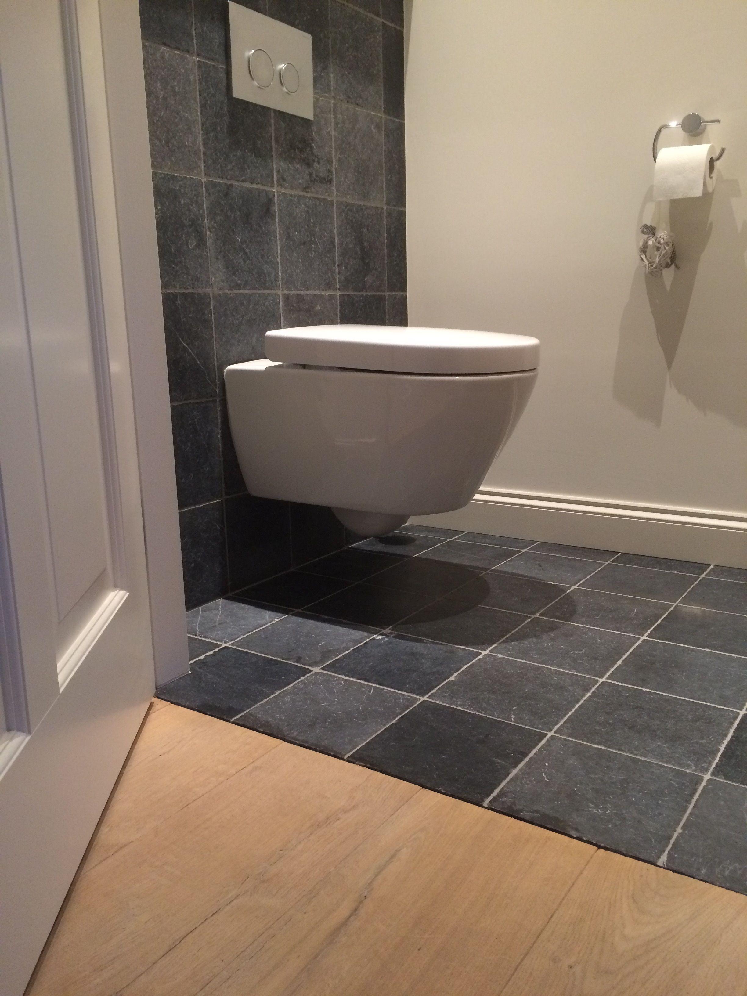 toilet met vietnamese hardsteen vloer en wandtegels 20x20. Black Bedroom Furniture Sets. Home Design Ideas