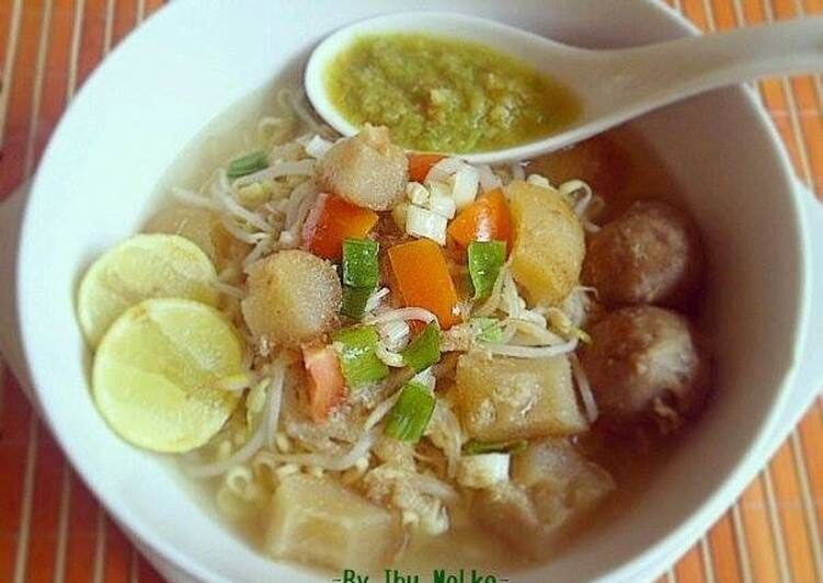 Resep Mie Kocok Bandung Oleh Ibu Malka Resep Resep Makanan Resep Resep Masakan