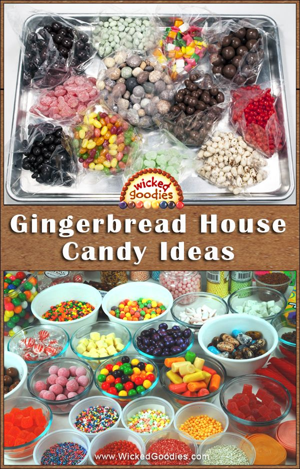 Christmas Gingerbread House Decorations.Gingerbread House Candy Ideas Gingerbread Houses