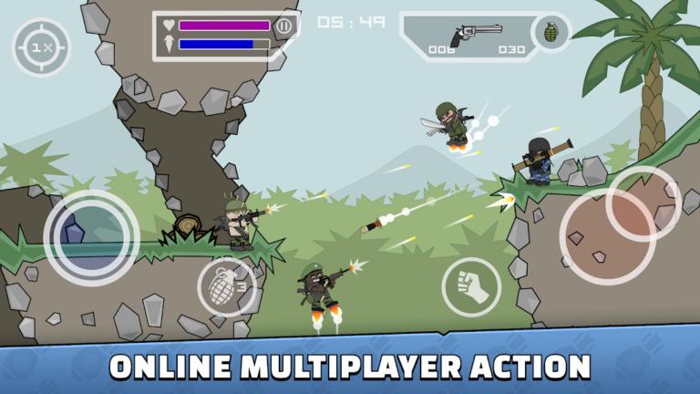 Mini Militia God Mod Apk v5.1.0 Download [Unlocked] 2020