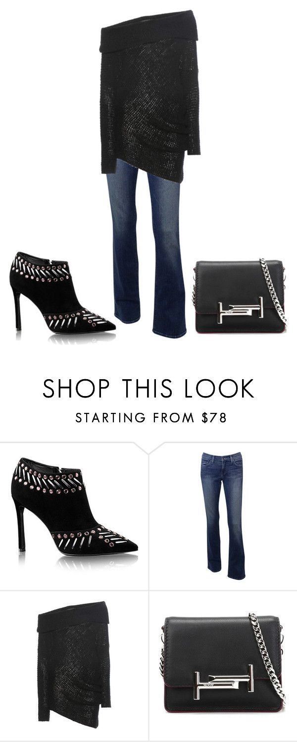 """""""Ootd"""" by lvekcsmiles ❤ liked on Polyvore featuring Calvin Klein Collection, Tod's, ootd and BusinessWoman"""