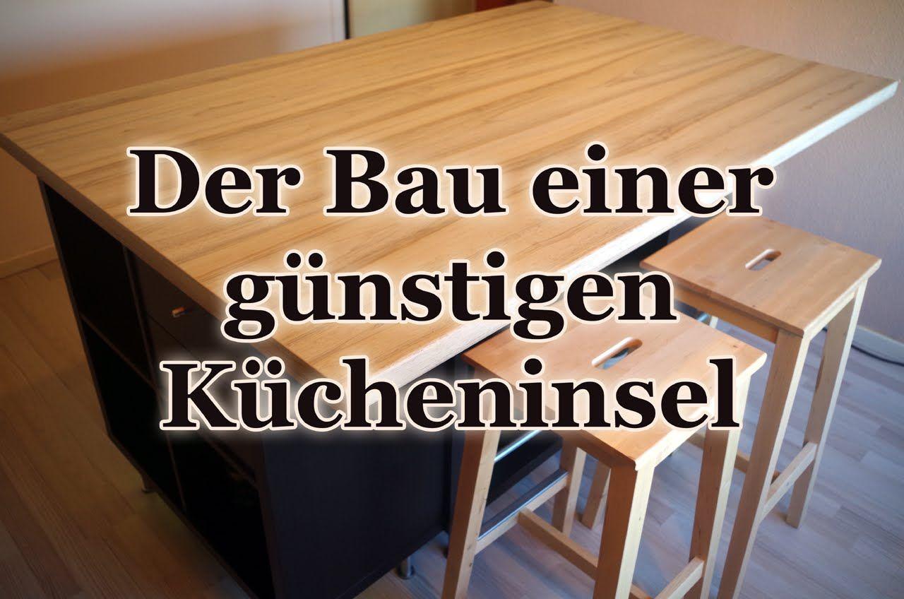 Die perfekte Rohkostküche - eine Kücheninsel für 350 Euro selber ...