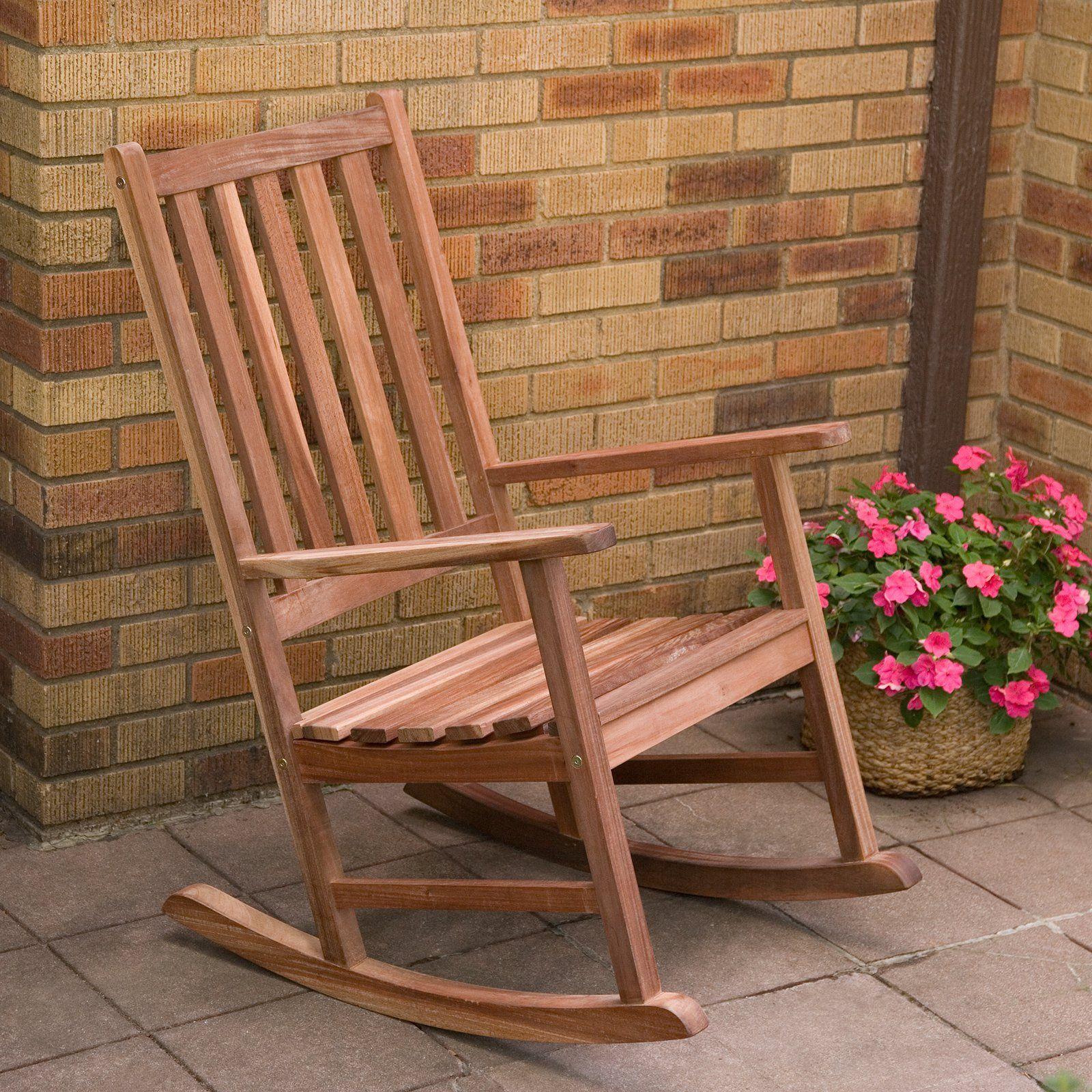 belham living richmond heavy duty outdoor wooden rocking