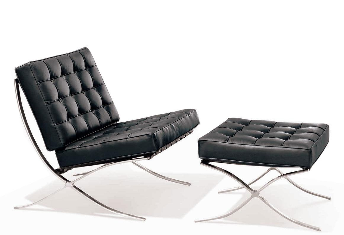 Modern Lounge Chair With Ottoman Louis