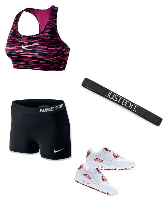 """""""Nike outfit✔️"""" by marriedanny ❤ liked on Polyvore featuring NIKE"""