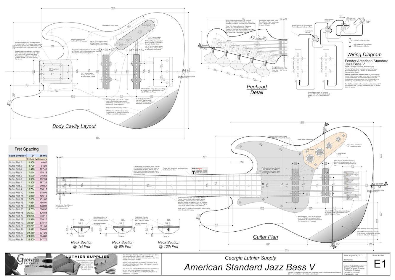 J bass blueprints bass pinterest bass guitars and jazz georgia j bass blueprints malvernweather Gallery