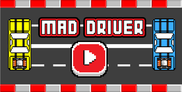 Mad Driver - Html5 Mobile Game - android & ios | Code Script