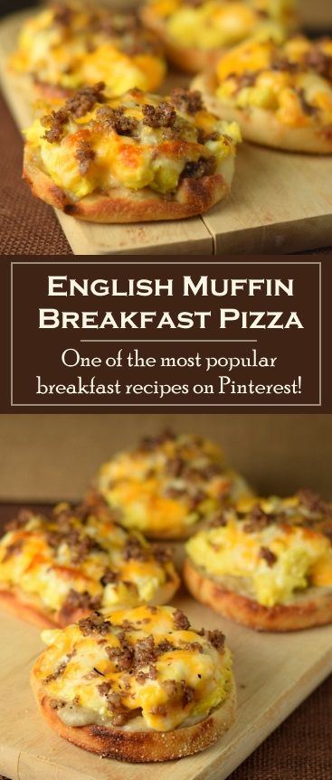 Photo of English Muffin Breakfast Pizza
