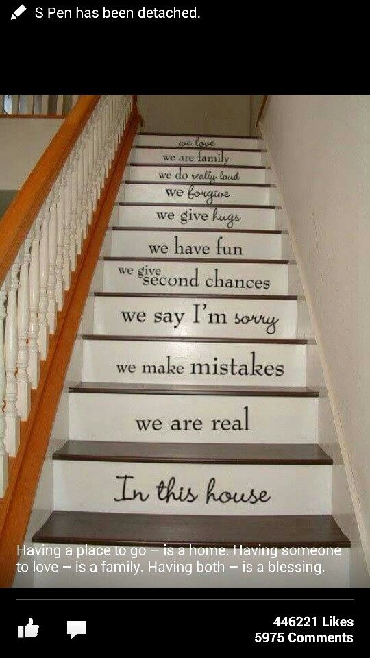 Amazing Staircase Messages