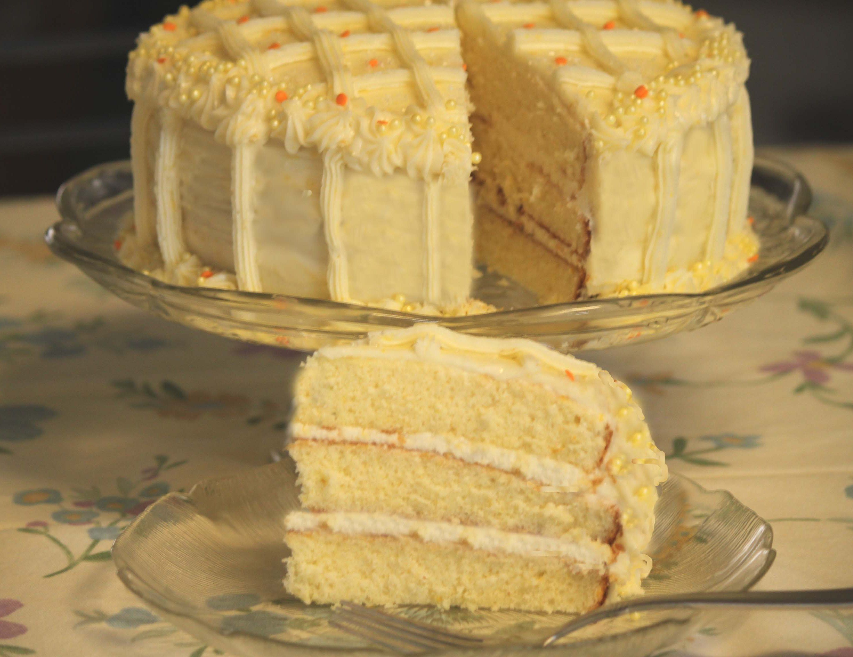 Lemon Cake Recipe Joy Of Baking: Lemon Orange Chiffon Cake (recipe From Southern Living