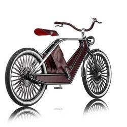 Italiensk elcykel med klass - | Tjock / Garaget