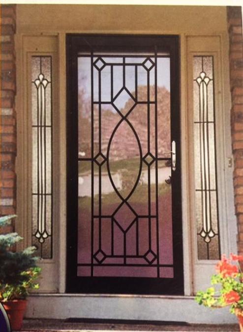 Security Doors Steel Doors Front Doors Storm Doors Iron Doors Glsss And Screen Doors Custom Security Screen Door Iron Security Doors Exterior Door Styles