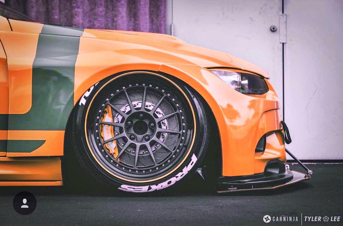Orange GT3 Body kit: @rolloface Brakes: @rolloface #bmw #