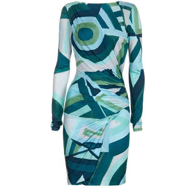 Why do I want this Emilio Pucci Oval Mini Dress In Geometry Print