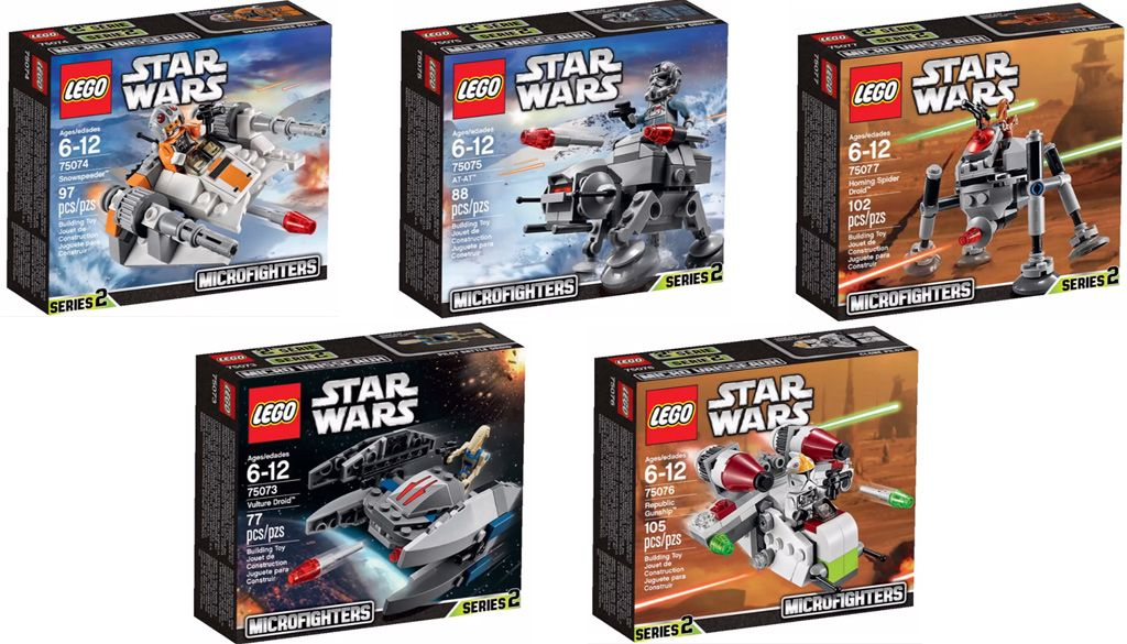 This Infrared: Want List: LEGO Star Wars Microfighters Series 2 ...