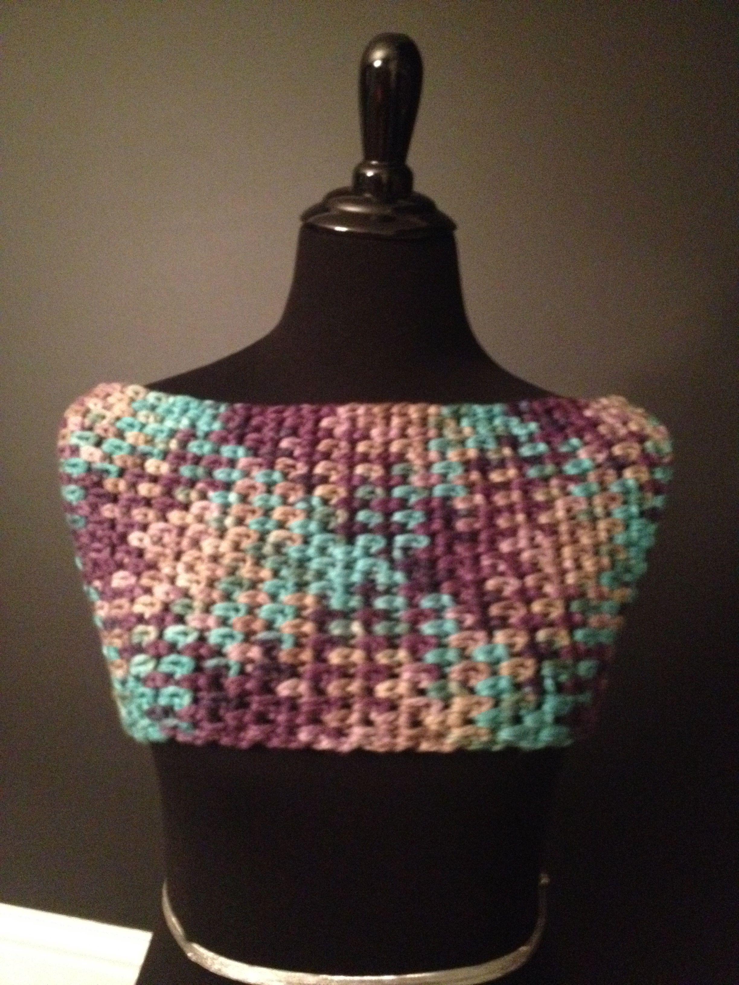 Crochet planned color pooling. Bernat chunky yarn. | Crochet Hooky ...