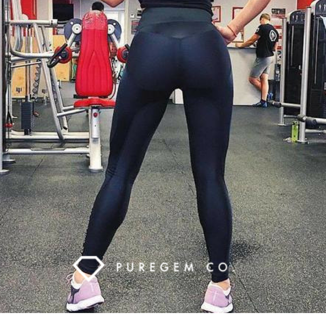 5c3770a29fc3 High Waist Contour Adventure Push Up Fitness Leggings is ideal for workout  clothes to help lift and contour your shape and creates stunning curves to  look ...