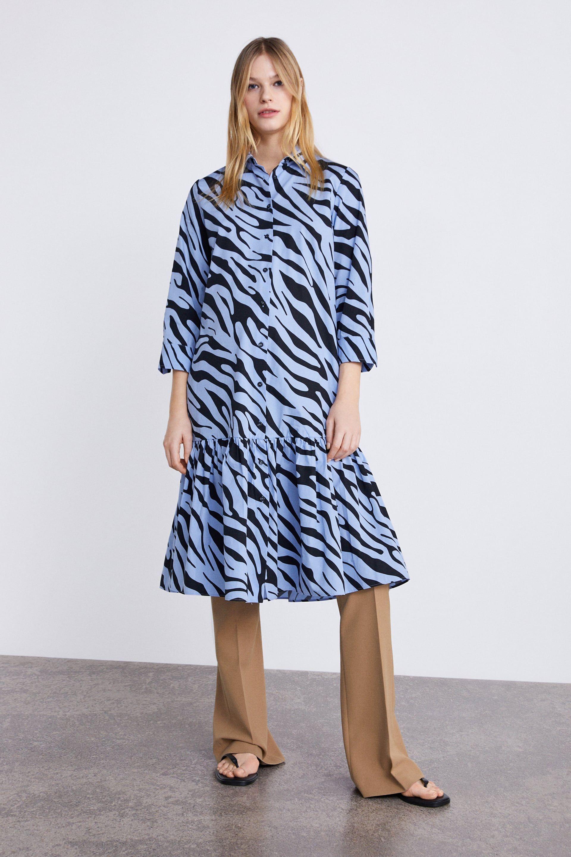 83cd9565 ANIMAL PRINT SHIRT DRESS - MOM-WOMAN-CORNER SHOPS   ZARA United States
