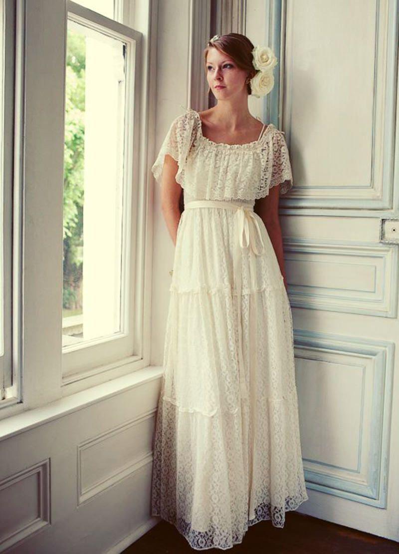 20 vestidos de noiva Boho Chic para você se inspirar