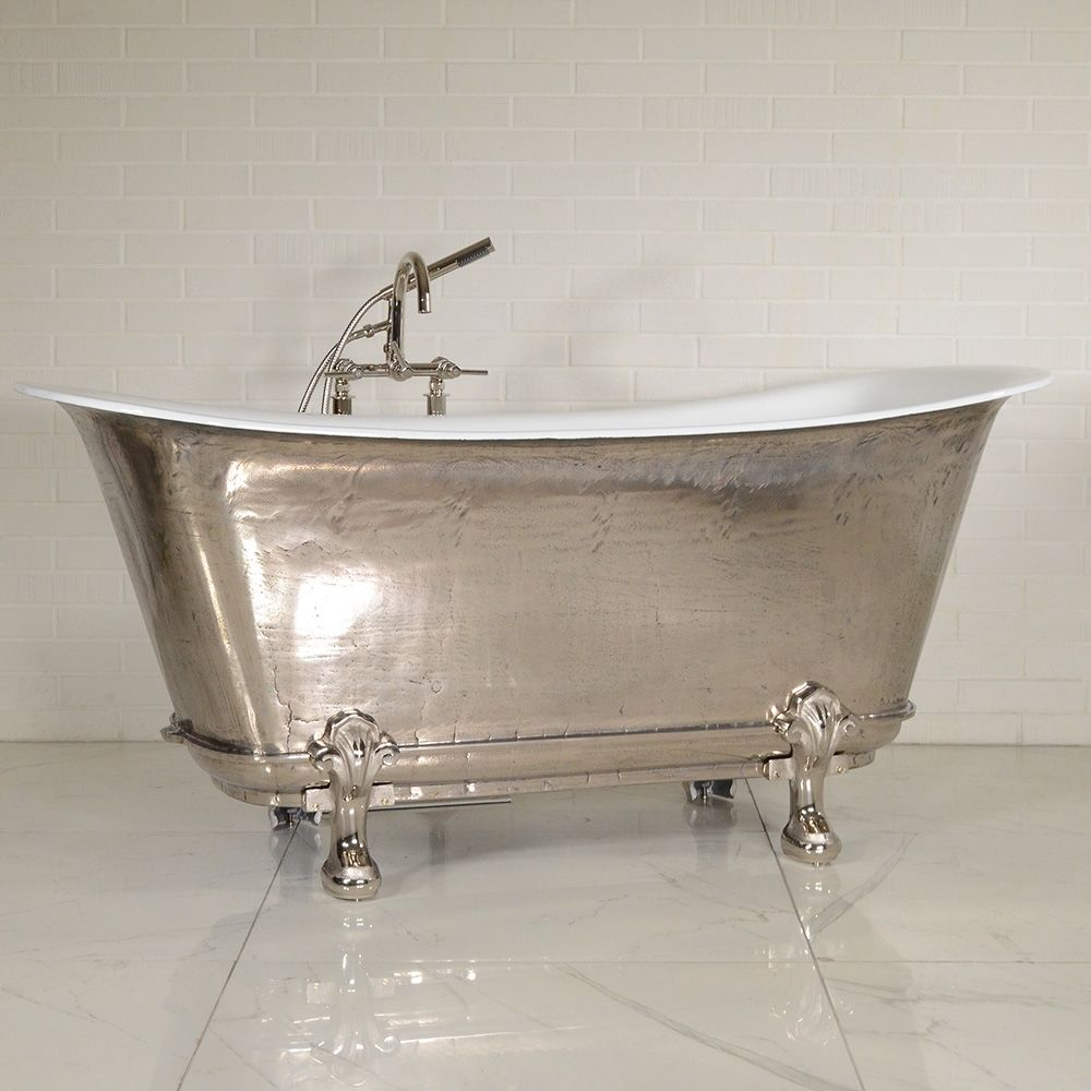 The Charroux Pn Cl Freestanding Cast Iron Chariot Clawfoot Tub