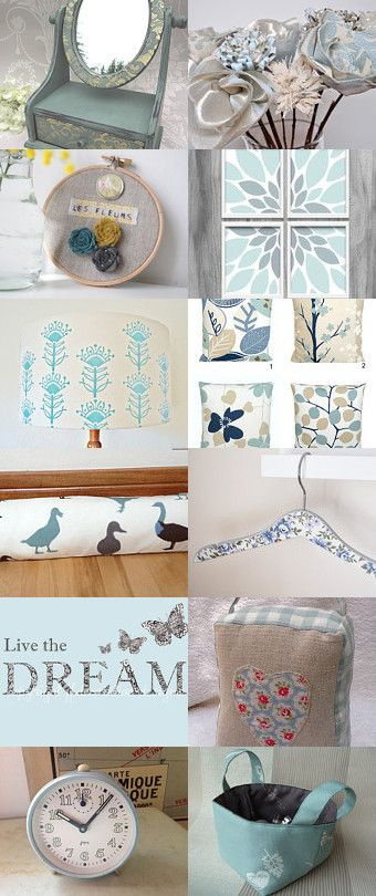 Duck Egg Blue Home Decor By Anastasia Bird On Etsy Pinned With Treasurypin