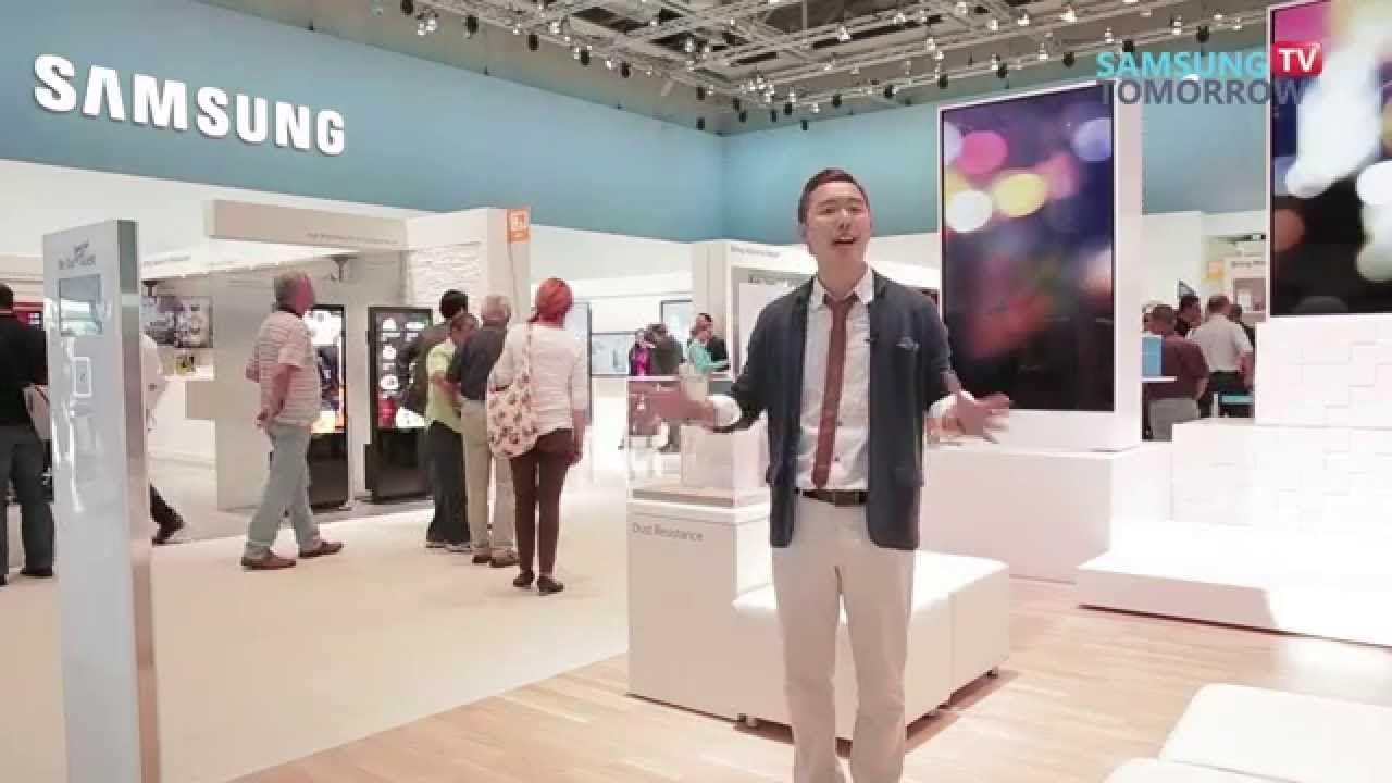IFA 2014 : Enterprise Solutions at Samsung Exhibition