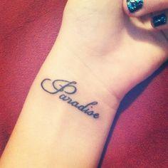 paradise tattoo - Google Search