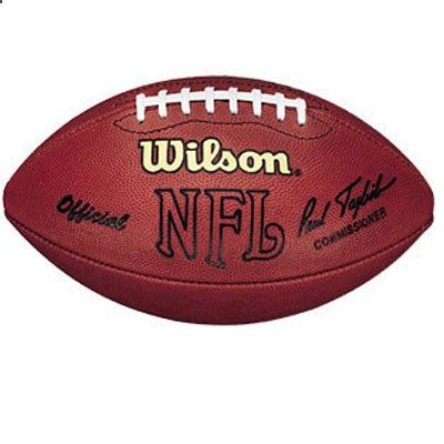 A regulation football-what guy doesnt want a new football to throw around with the guys